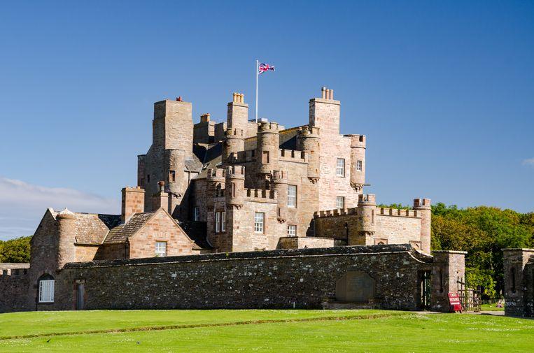 Het Castle of Mey dateert van 1566, en werd jaren geleden al omgebouwd tot een vorstelijk vakantieverblijf.