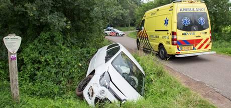 Uitwijkmanoeuvre leidt tot crash in Nijkerk