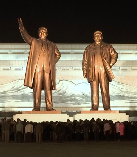 Duizenden Noord-Koreanen herdenken zesde sterfdag Kim Jong-il