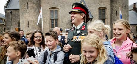 Leerlingen zijn onder de indruk van Veteranendag