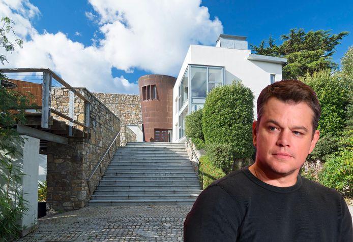 Matt Damon brengt z'n quarantaine door in Ierland