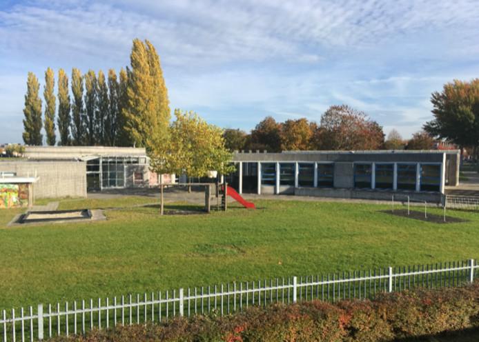 Het schoolgebouw aan de Kortsteel 5 waar de Omniumschool Zeewolde in september begint.