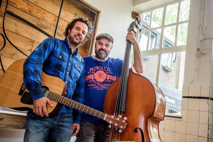Dieter (links) en Eric van der Westen delen een liefde voor Amerikaanse muziek.