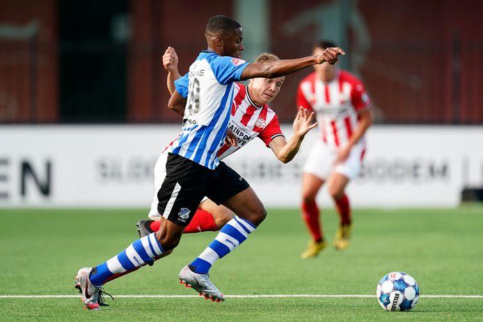 Dico Jap Tjong ontbreekt vrijdag bij FC Eindhoven.