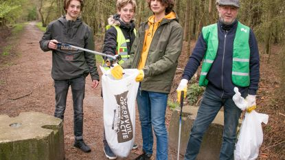 Met al meer dan 500 inwoners op afvaljacht: maand lang zwerfvuilacties in Sint-Niklaas en deelgemeenten
