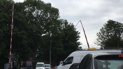 Slagboom aangereden op overweg in Wondelgem: signaal stopt niet met luiden en lichten blijven op rood