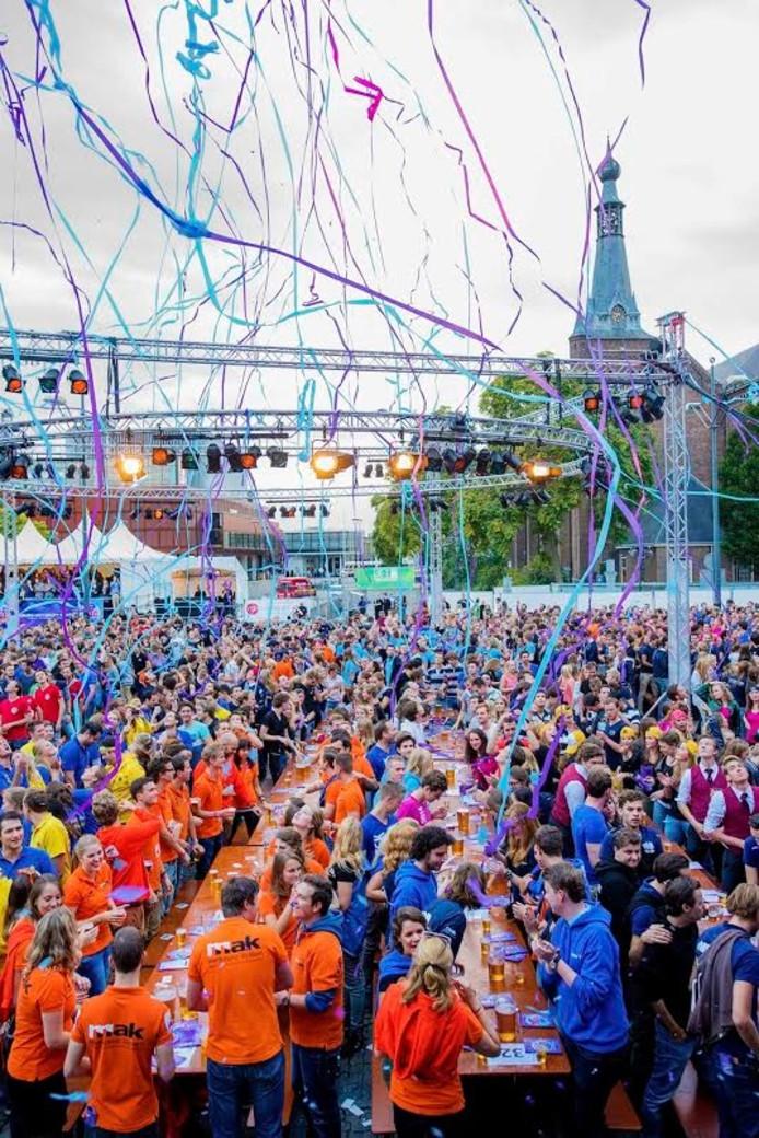 Cantus op het Willemsplein. Foto John Schouten/PVE