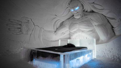 Dit ijshotel in Lapland is de droom van elke Game of Thrones-fan