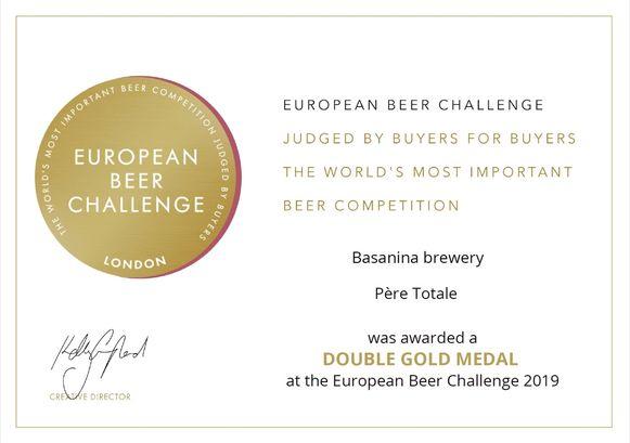 Het 'Père Totale'-kersbier van brouwerij Bart De Wolf van Basanina uit Smetlede viel in Londen in de prijzen.