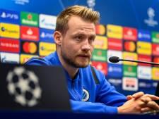 """Mignolet estime que Bruges devrait être plus constant: """"Pas d'excuses pour les performances inférieures"""""""