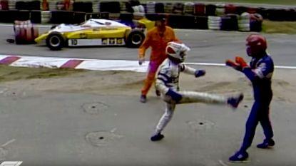 Een rake rechtse of het slechtere kickbokswerk: in vergelijking met deze F1-coureurs is Verstappen nog een doetje