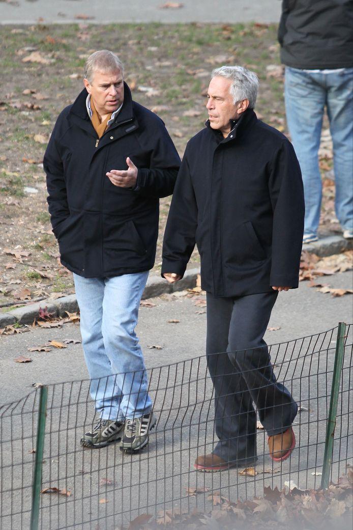 In 2011 bekoelde de vriendschap tussen Epstein en Andrew.