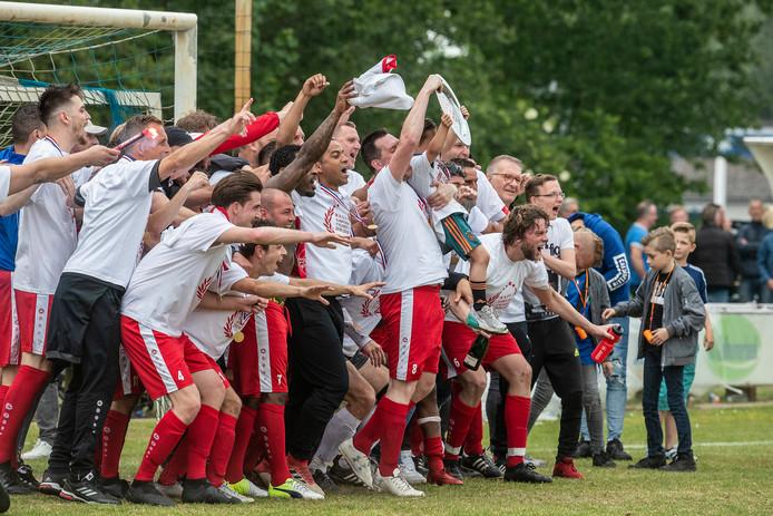 MASV vierde in mei de titel in de derde klasse C.