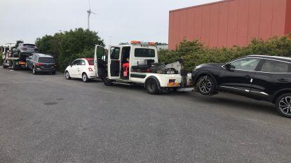 """Vijf auto's getakeld tijdens controleactie: """"Bestuurders reden rond zonder verzekering"""""""