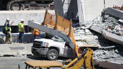 Nog 3 dodelijke slachtoffers in bedolven auto's onder ingestorte wandelbrug Miami
