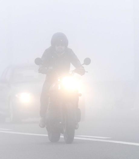 Code geel voor dichte mist ingetrokken, vliegverkeer Eindhoven Airport weer op gang