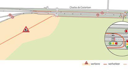 Start aanleg werfweg aan Charles de Costerlaan