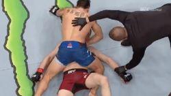 Meer controverse na historische UFC-kamp kan moeilijk: verliest Georgiër hier nu het bewustzijn of niet?