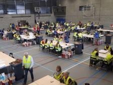 180 studenten tellen 140.000 stembiljetten in Breda