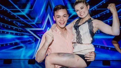 Winnaars 'Belgium's Got Talent' Natascha en Ian uit elkaar