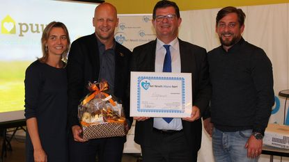 'Nevels Blauw Hart' is voor EcoPuur
