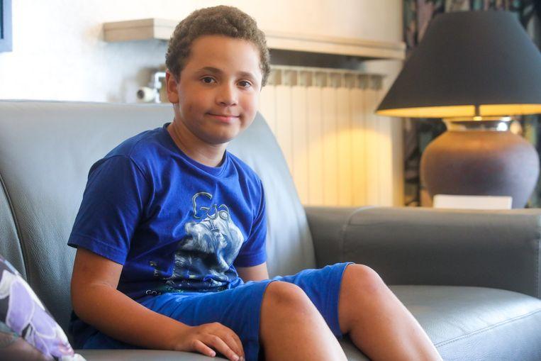 Jimmy Chapman uit Sint-Stevens-Woluwe lijdt aan de ziekte van Duchenne
