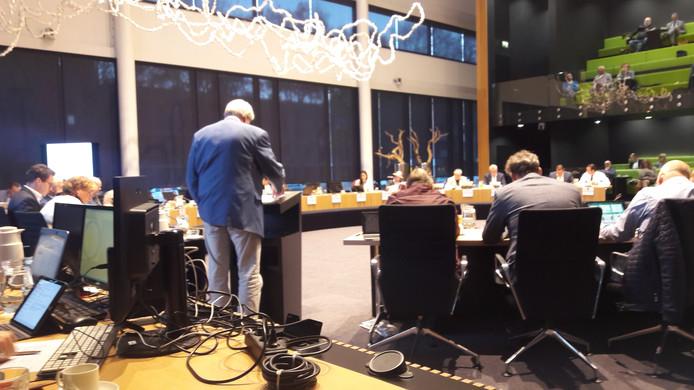 De gemeenteraad van Oss buigt zich over de begroting voor 2019. Aan het woord Frans Molenkamp van oppositiepartij D66.