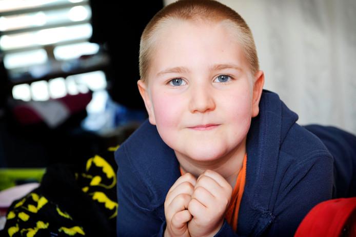 Rico-Jay heeft meerdere erfelijke aandoeningen, waaronder een ernstige darmaandoening.