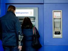 In Rhenen komt bijna geen geld meer uit de muur