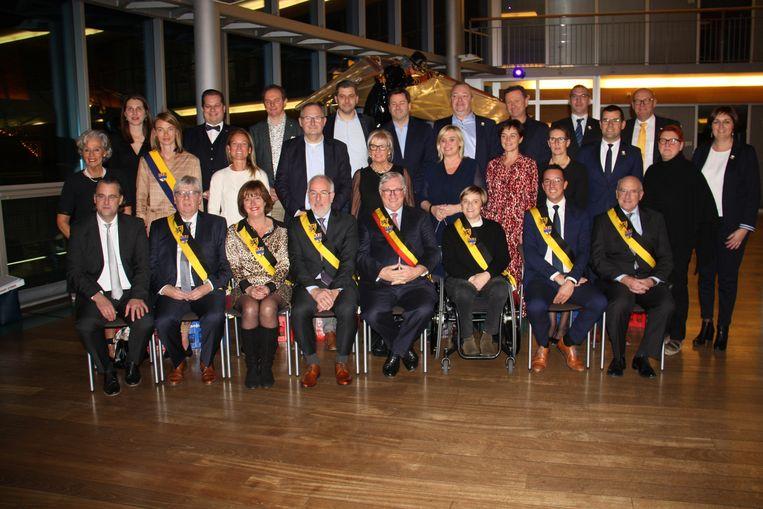 De nieuwe gemeenteraad in Koksijde is geïnstalleerd.