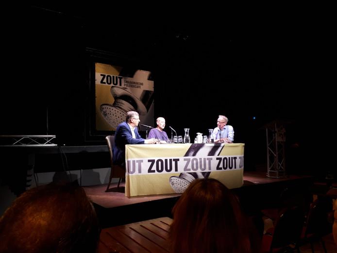 Een eerdere aflevering van politiek café Zout in Oss