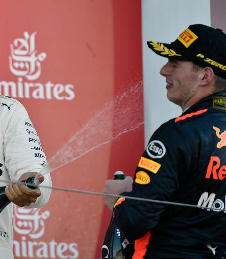 Max Verstappen: Lewis is alleen blij als hij wint