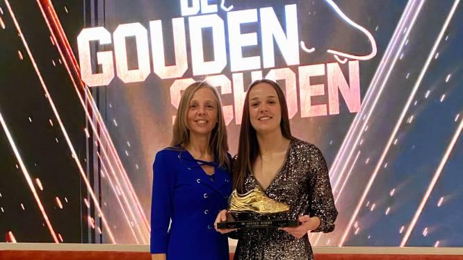 """Sportschool KA Beveren trots op 'gouden schoen' Tine De Caigny: """"Voorbeeld voor meisjes die ook hoogste niveau willen bereiken"""""""