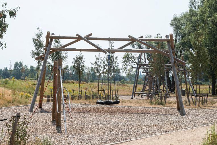 De speeltuin aan het Galgenweel.