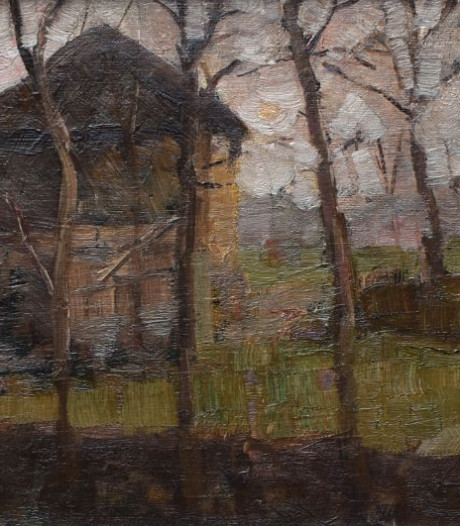Mondriaan-schilderij gaat onder de hamer in Eemnes