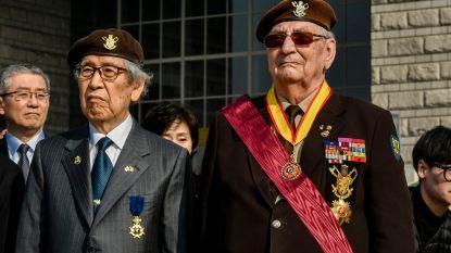 """Oudstrijder (86) geëerd in Zuid-Korea: """"Vrijheid en democratie verdedigd"""""""