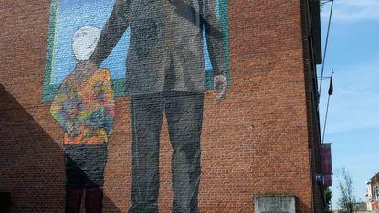 Colombiaanse graffiticrew fleurt bib op
