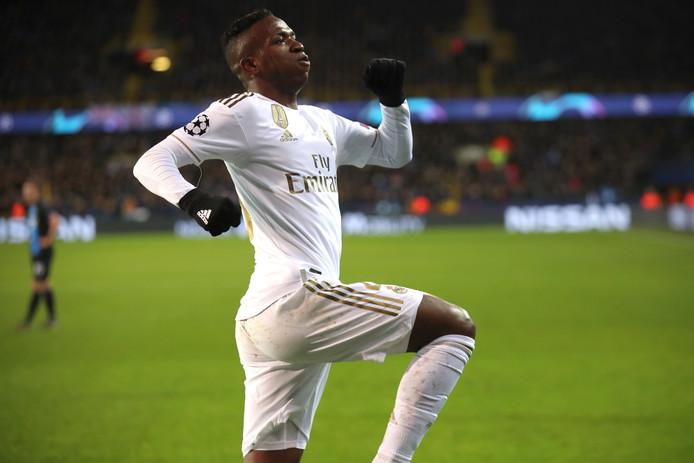 Vinícius scoorde namens Real Madrid.