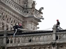 'Notre-Dame beschermen tegen aangekondigde regen heeft hoogste prioriteit'