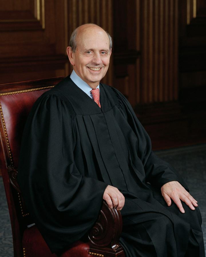 Stephen Breyer, rechter van het Amerikaanse Supreme Court
