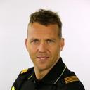 Politieman Alrik van den Berg hield in Zwolle in de nacht van zaterdag op zondag een carnavalsvierder aan die agenten beledigde.