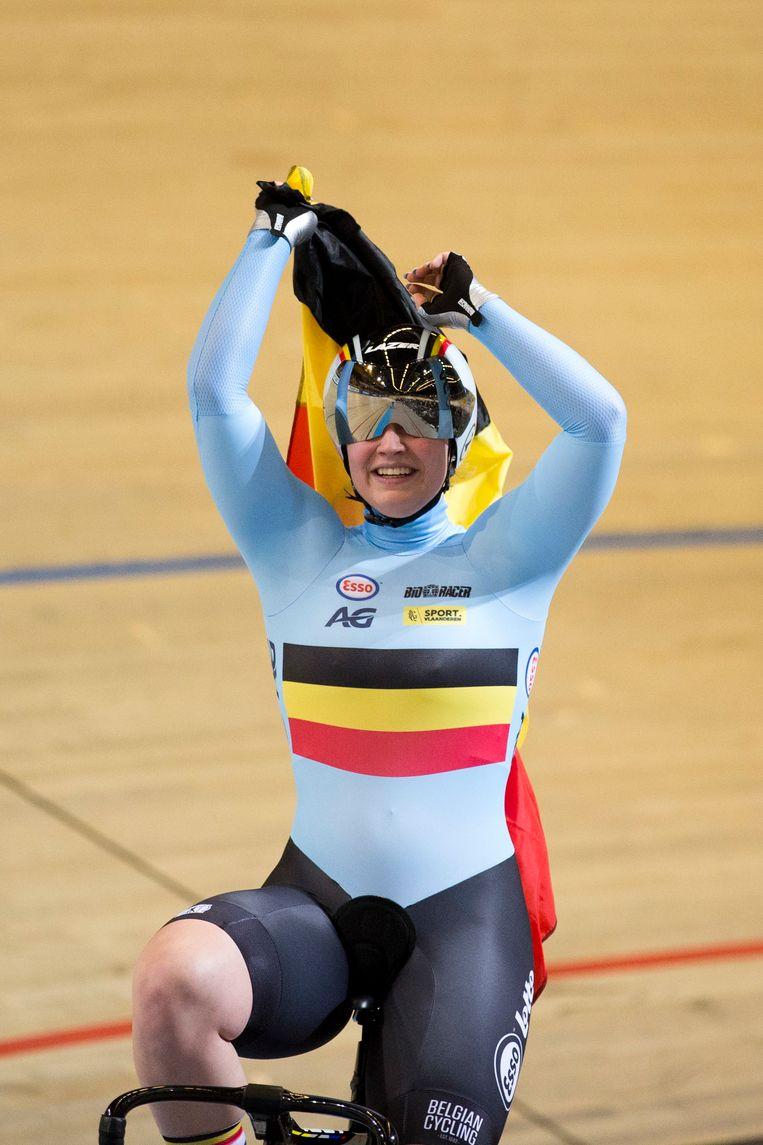 Goud voor België op het WK baanwielrennen! Degrendele ...