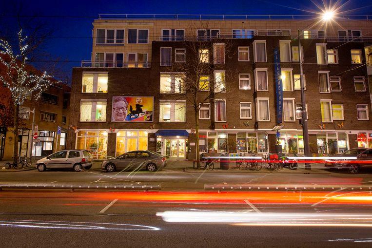 De gevel van verpleeghuis Humanitas De Leeuwenhoek in Rotterdam. Beeld Jorgen Caris