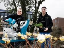 Guus en Thijs zijn Nederlands kampioen tuinaanleg: 'Ooit samen eigen bedrijf'