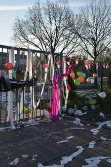 Examenstunt: Noordik in Vriezenveen ingepakt met wc-papier en kabels