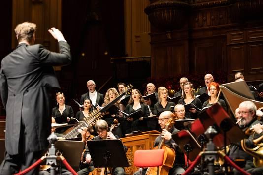 Het Nederlands Kamerkoor voert zondag 20 december twee keer het Weihnachts-Ohratorium op in de Parkzaal van Musis.
