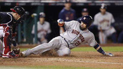 Houston Astros brengt stand weer gelijk in World Series