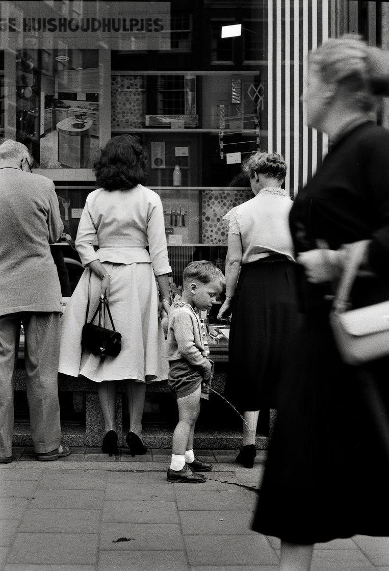 Amsterdam, 1955 Foto Eddy Posthuma de Boer Beeld Eddy Posthuma de Boer
