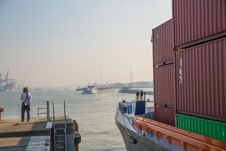 De Antwerpse haven.