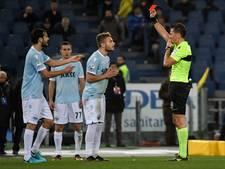 Lazio thuis met tien man onderuit tegen Torino